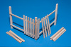 1:22 Wooden palings (corner) (1 pcs)