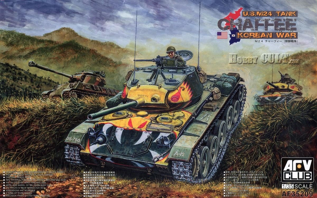 1:35 M24 Chaffee - Korean War (Pre-Order)