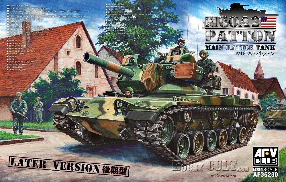 1:35 M60A2 Patton Main Battle Tank (Late Version) (Pre-Order)