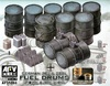 1:35 German 20l & 200l Fuel Drums (Pre-Order)