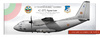 Alenia C-27J Spartan Bulgarian Air Force (Poster 100x38 cm)