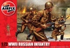 1:72 Russian Infantry WWII (41 Figures)