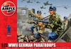 1:72 German Paratroops WWII (46 Figures)