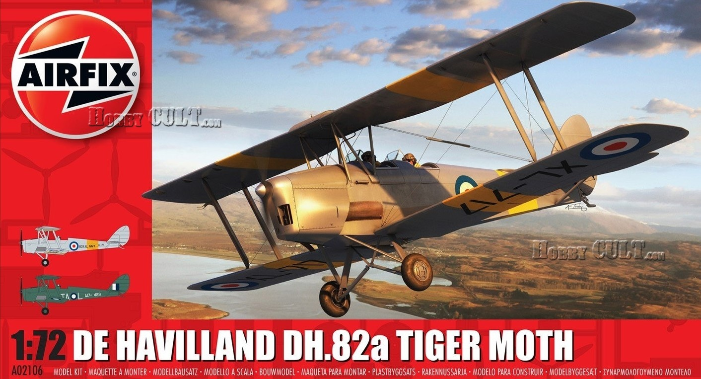 1:72 De Havilland DH.82a Tiger Moth (Pre-Order)