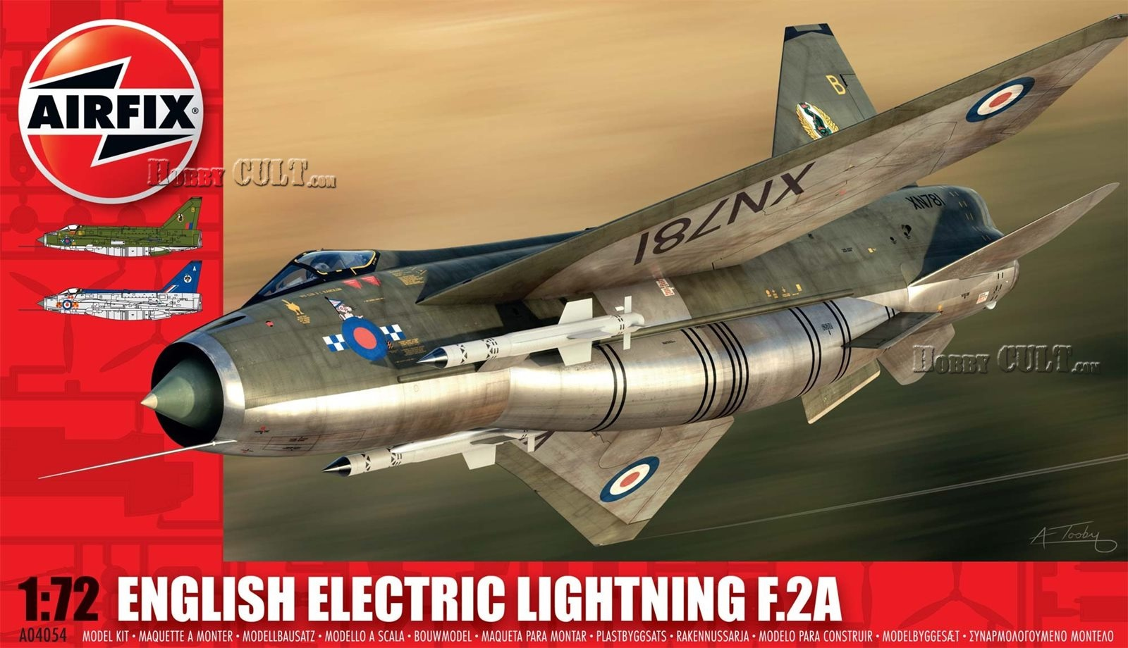 1:72 English Electric Lightning F.2A