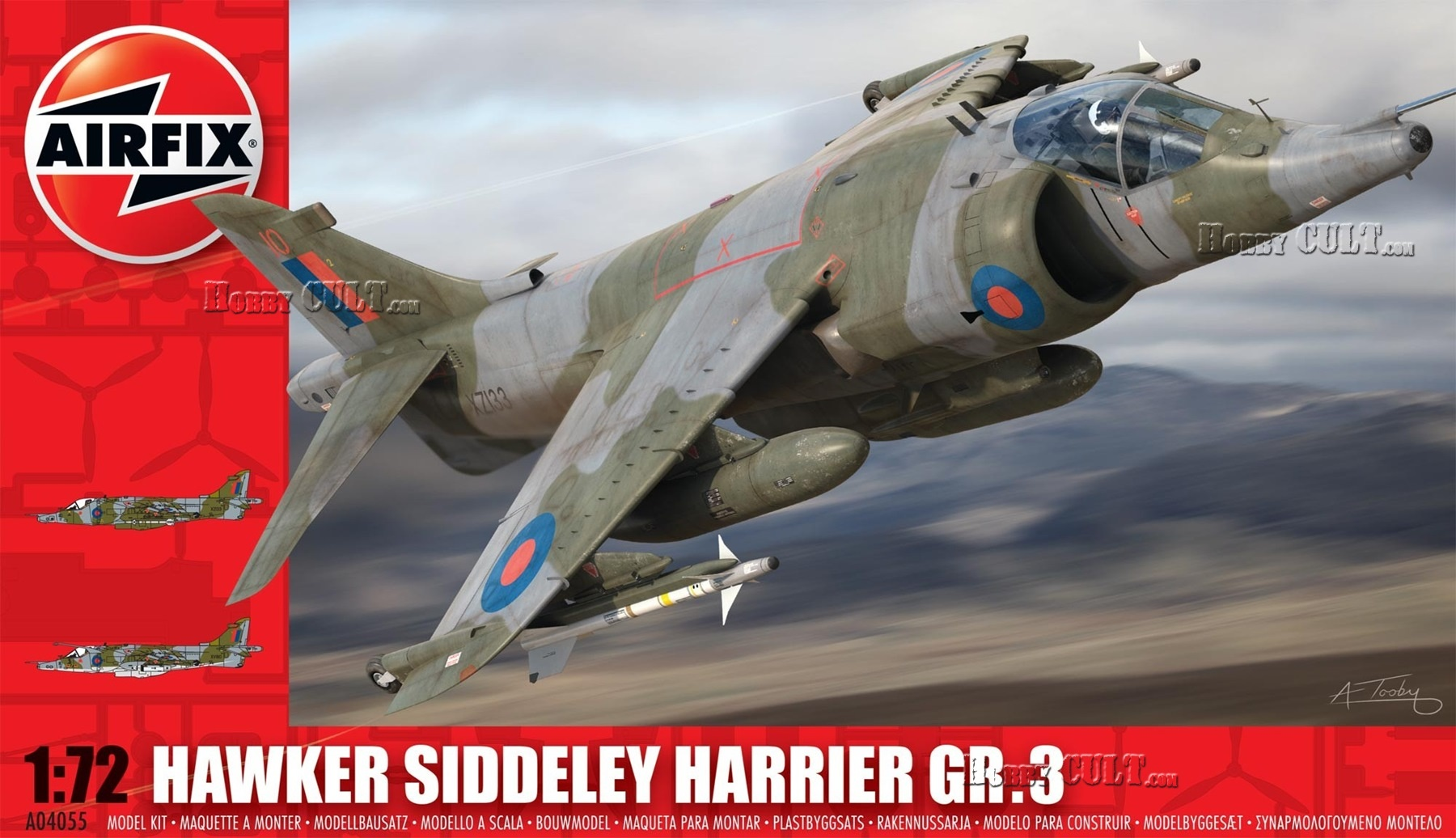 1:72 Hawker Siddeley Harrier GR.3