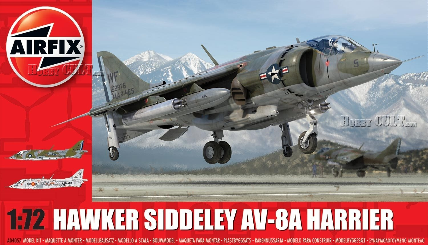 1:72 Hawker Siddeley Harrier AV-8A