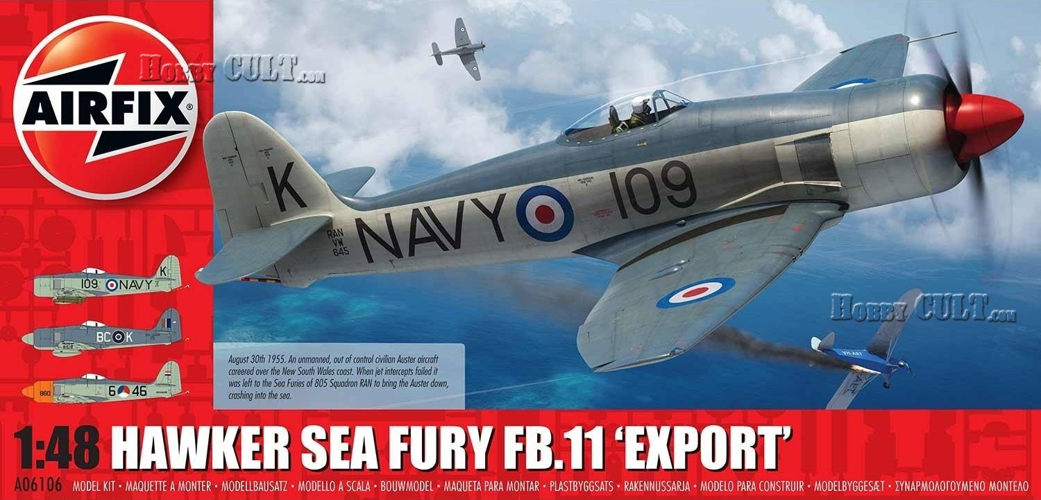 1:48 Hawker Sea Fury FB.11 'Export Edition' (Pre-Order)