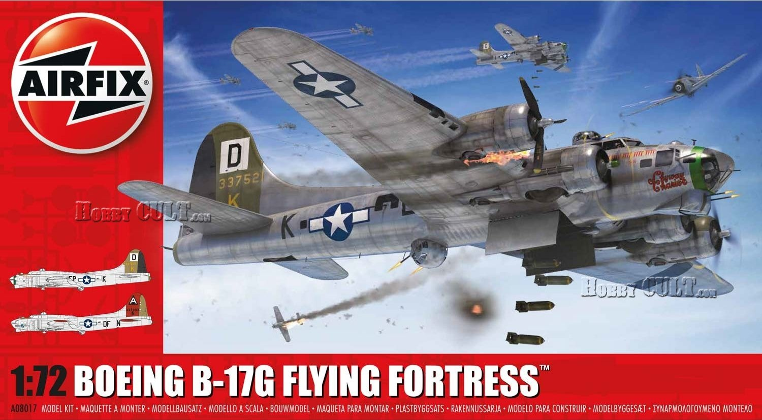 1:72 Boeing B-17G Flying Fortress