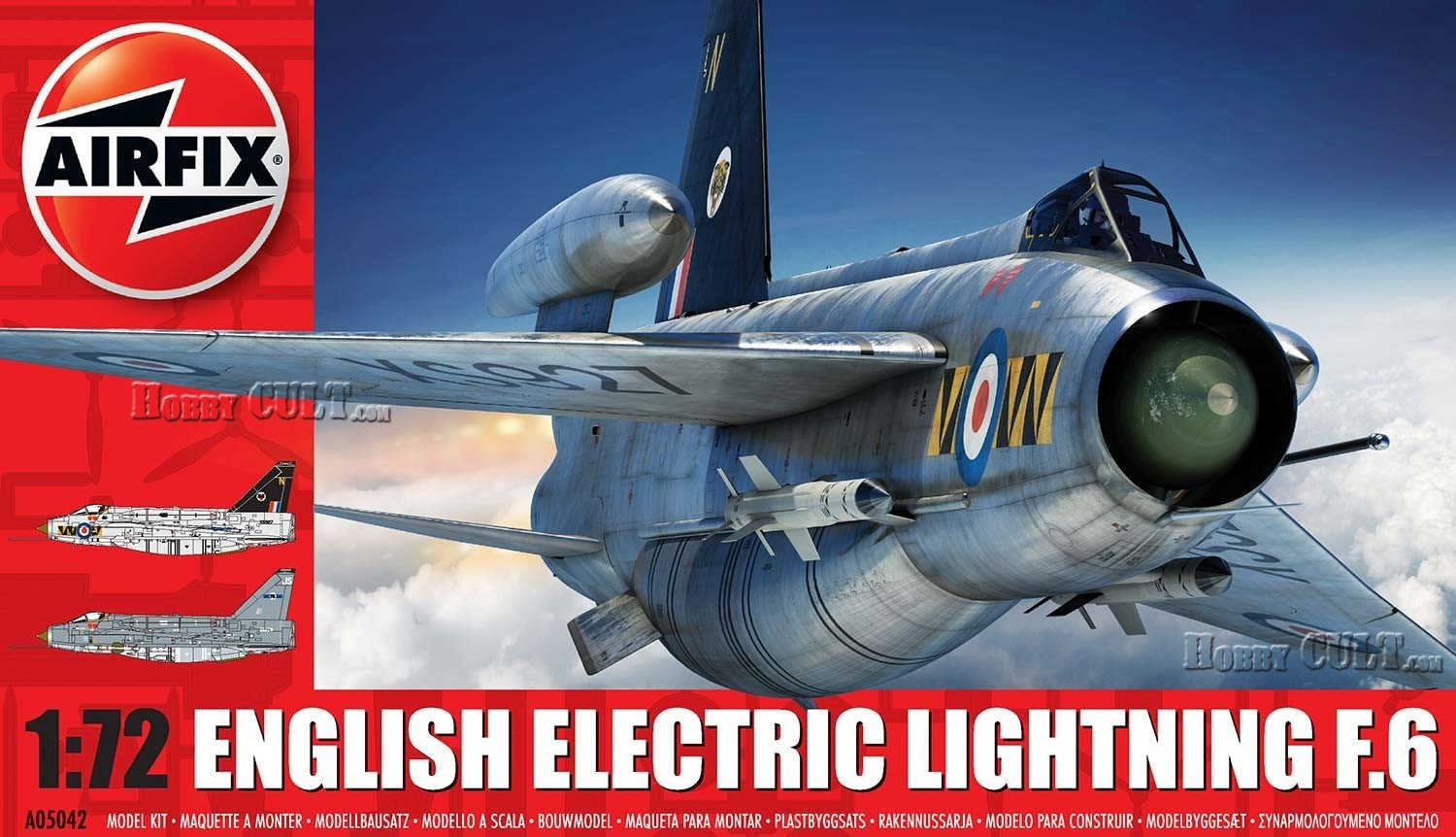 1:72 English Electric Lightning F.6