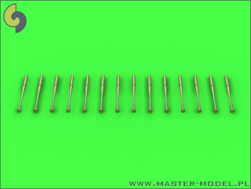 1:72 Static Dischargers - Type Used on Sukhoi Jets (14 pcs)