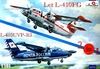 1:144 Let L-410 UVP / L-410 FG Turbolet (2 in 1) (2 kits)