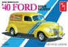 1:25 Ford Sedan Delivery 1940 - Stock, Custom, Drag (3 in 1)