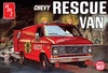 1:25 Chevrolet Rescue Van 1975 - Stock Van, Ambulance (2 in 1)