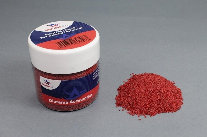 13463 Gravel Red (Size 00) - 200g
