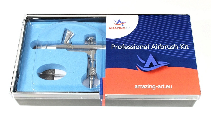 AA-135 Airbrush (Nozzle Set 0.20 mm, Cup 2 ml)