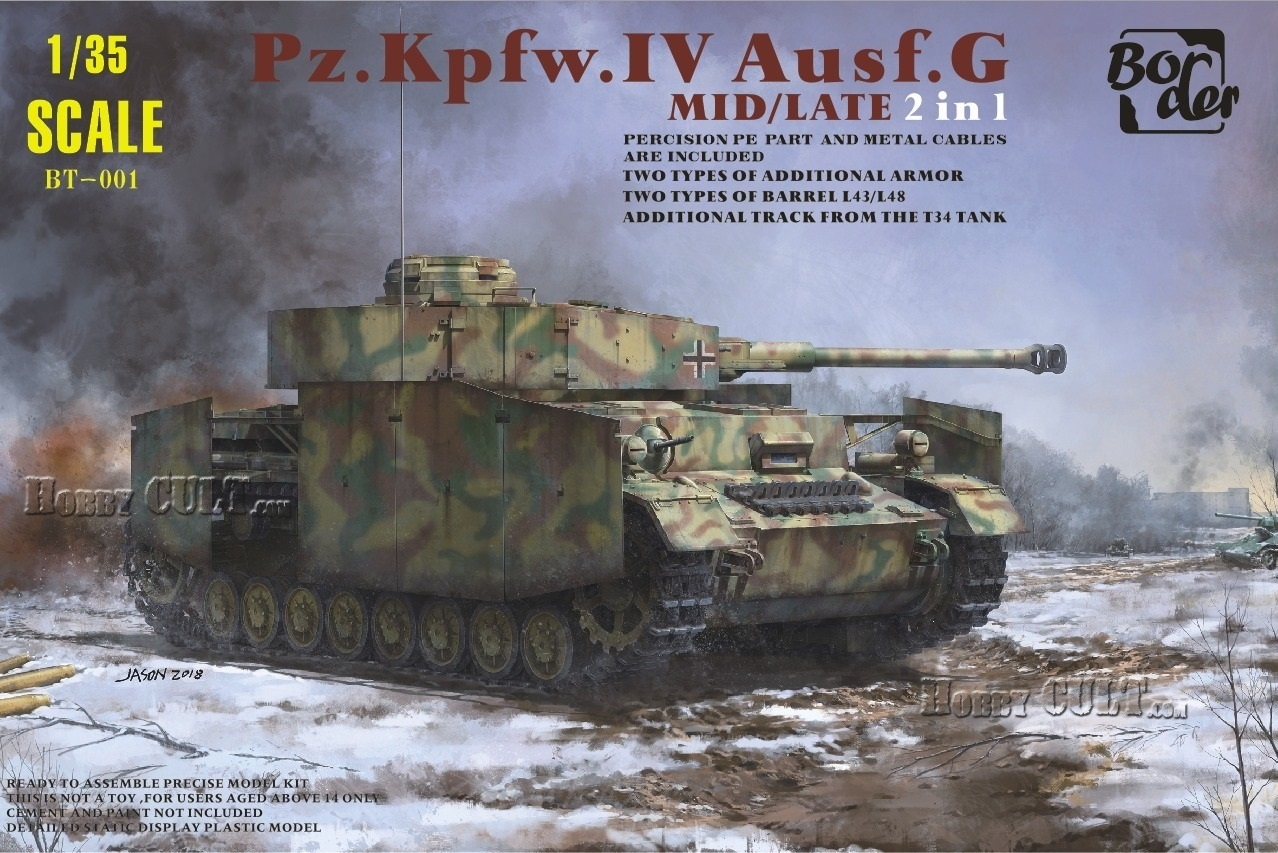 1:35 Pz.Kpfw.IV Ausf.G Mid/Late Production (2 in 1) (Pre-Order)