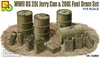 1:16 U.S. 20L Jerry Can & 200L Fuel Drum Set (Pre-Order)