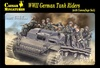 1:72 WWII German Tank Riders (Camouflage Suit) (Pre-Order)