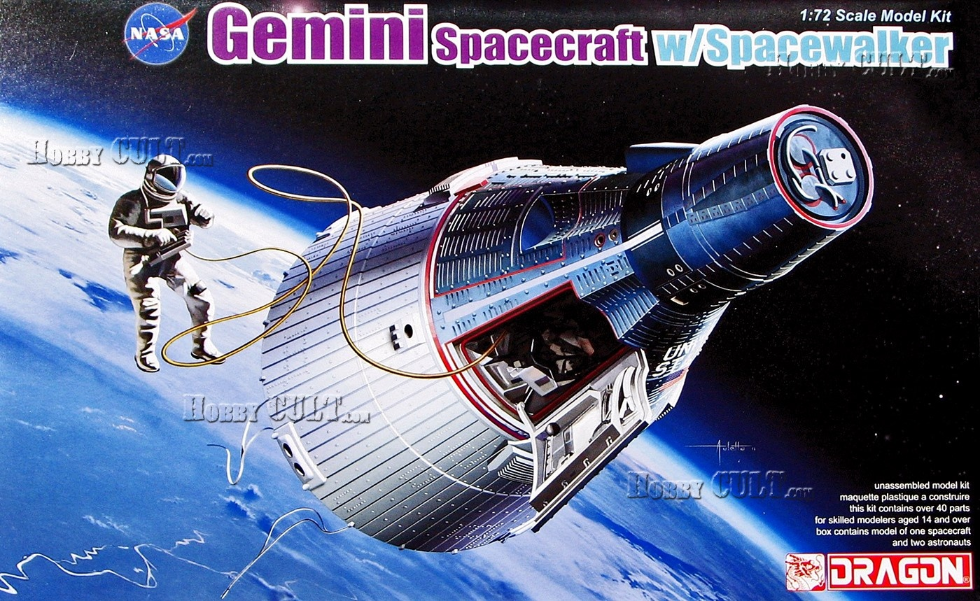 1:72 Gemini Spacecraft w/Spacewalker