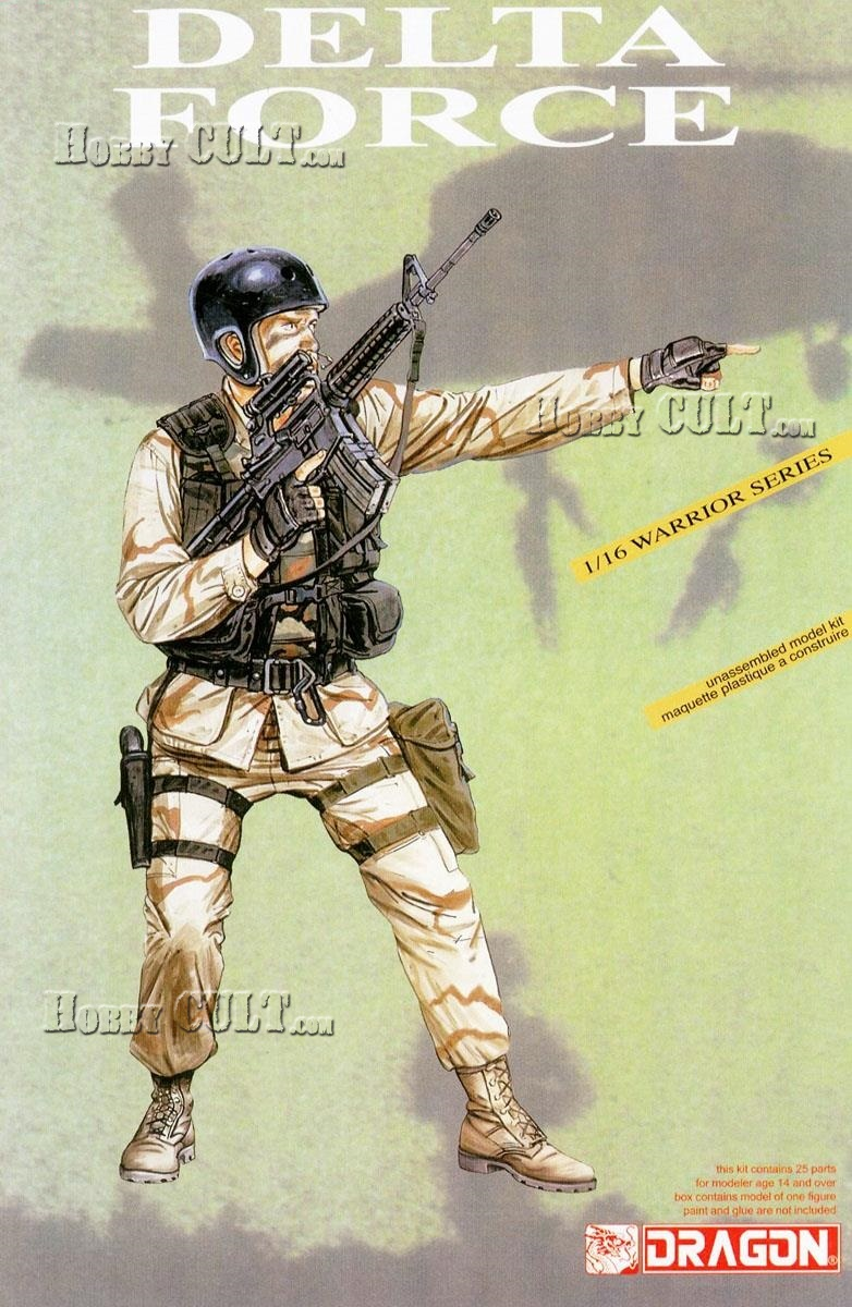 1:16 Delta Force Soldier