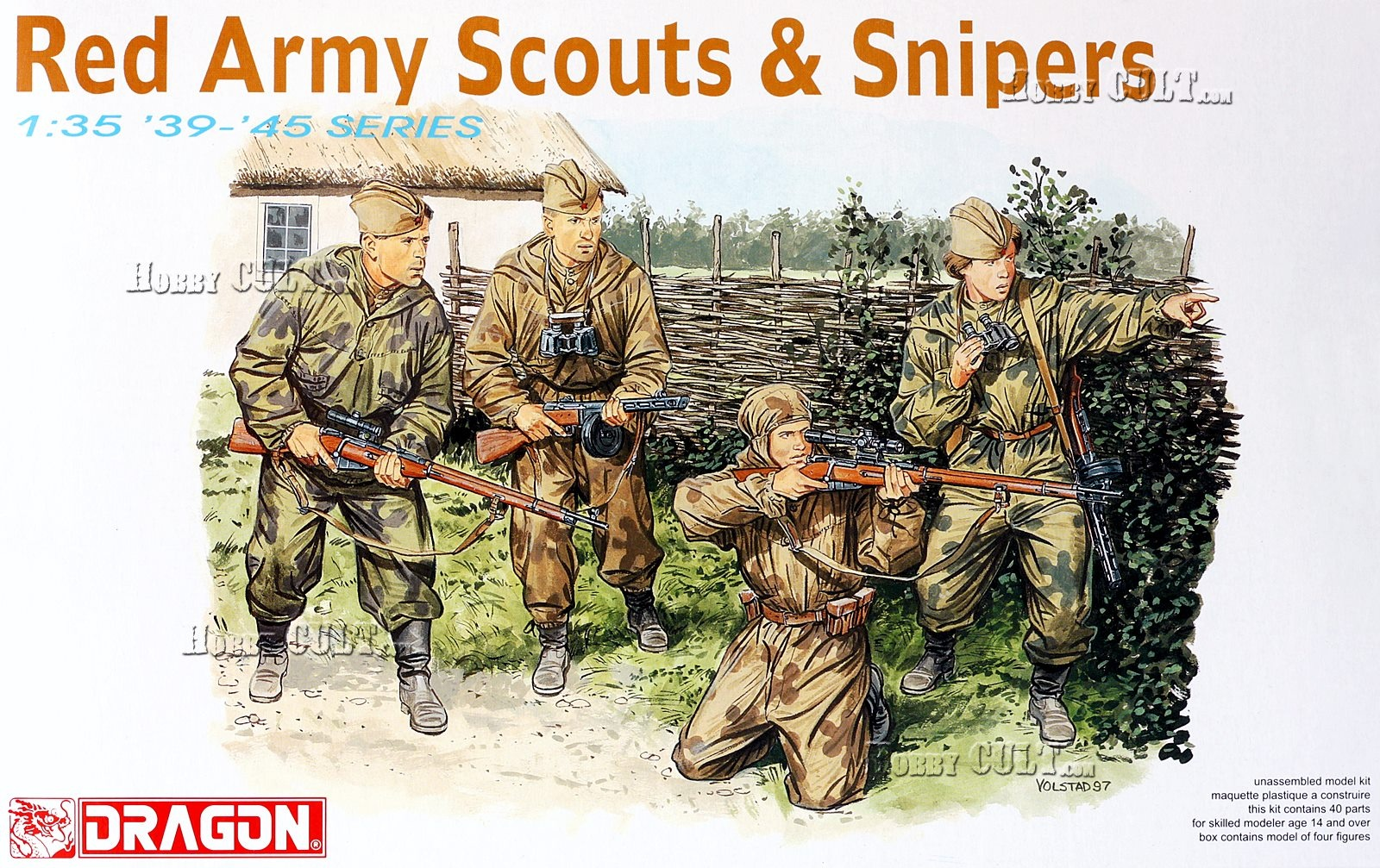 1:35 Red Army Scouts & Snipers
