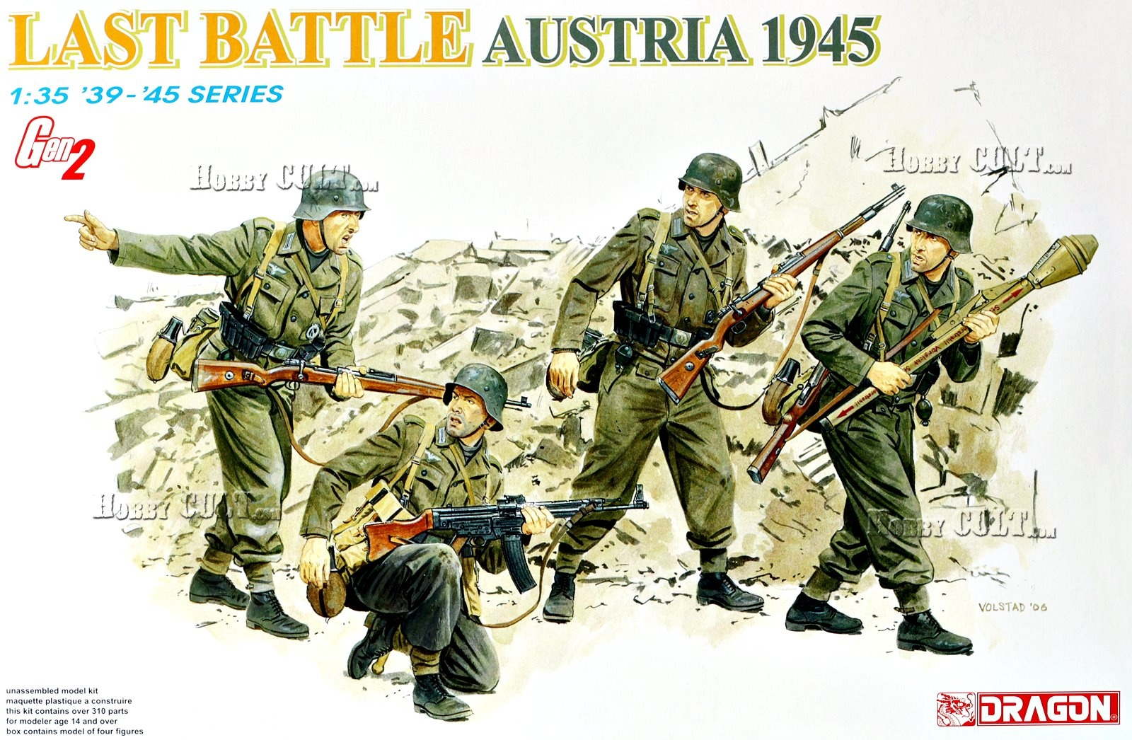 1:35 Last Battle, Austria 1945 (Gen2 Figures)