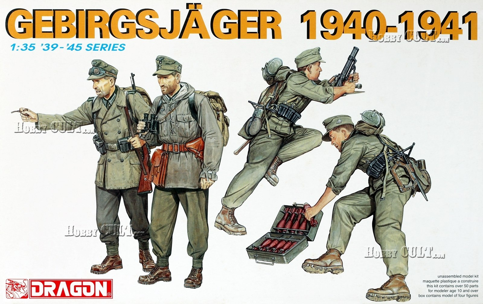 1:35 German Gebirgsjäger (1940-1941)