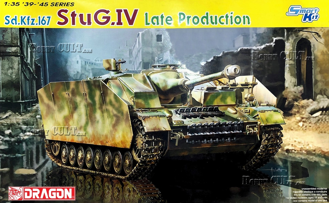 1:35 Sd.Kfz.167 StuG.IV Late Production (Smart Kit)