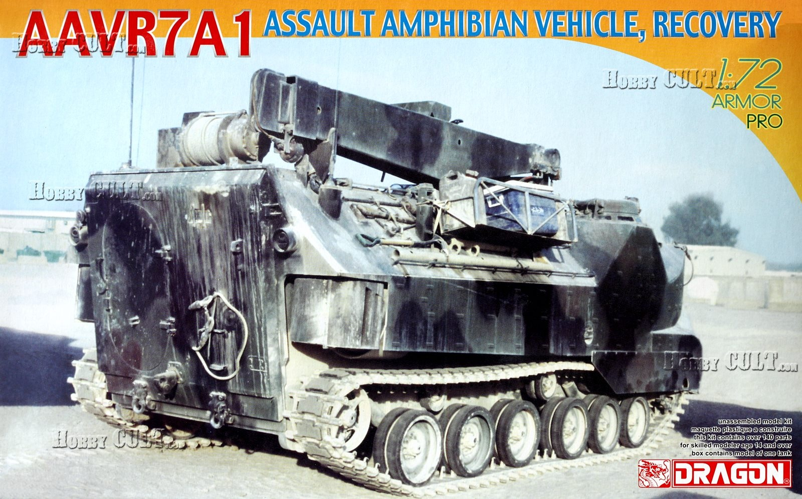 1:72 AAVR7A1 Assault Amphibian Vehicle, Recovery