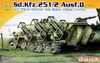 1:72 Sd.Kfz.251/2 Ausf.D w/28cm Rocket & Steel Frame Crates