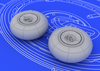 1:72 Bf 110G wheels (for EDUARD kit)