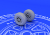 1:72 P-51 wheels (for TAMIYA kit)
