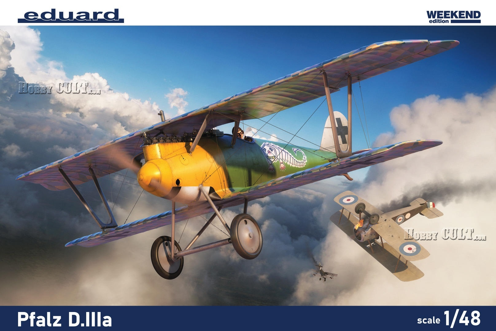 1:48 Pfalz D.IIIa (Weekend edition kit)