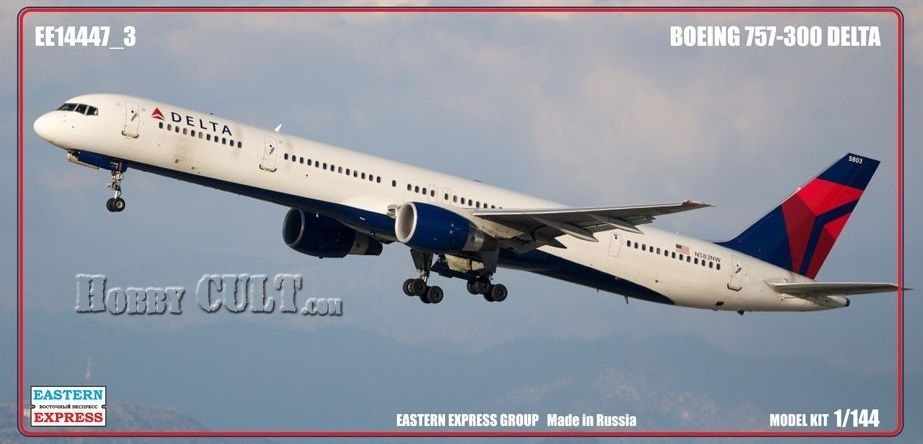 1:144 Boeing 757-300 Delta Airlines (Limited Edition)