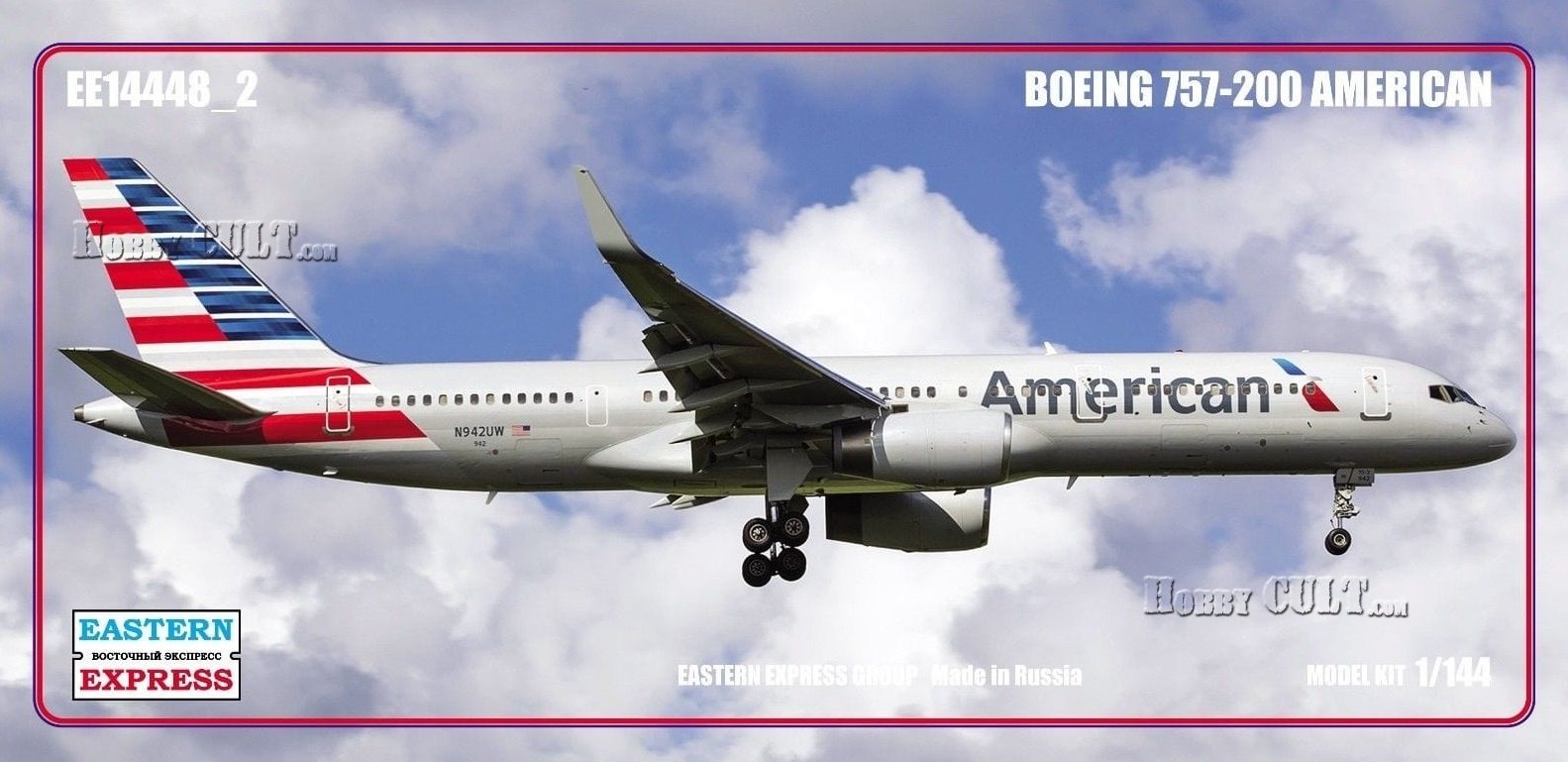 1:144 Boeing 757-200 American (Limited Edition)