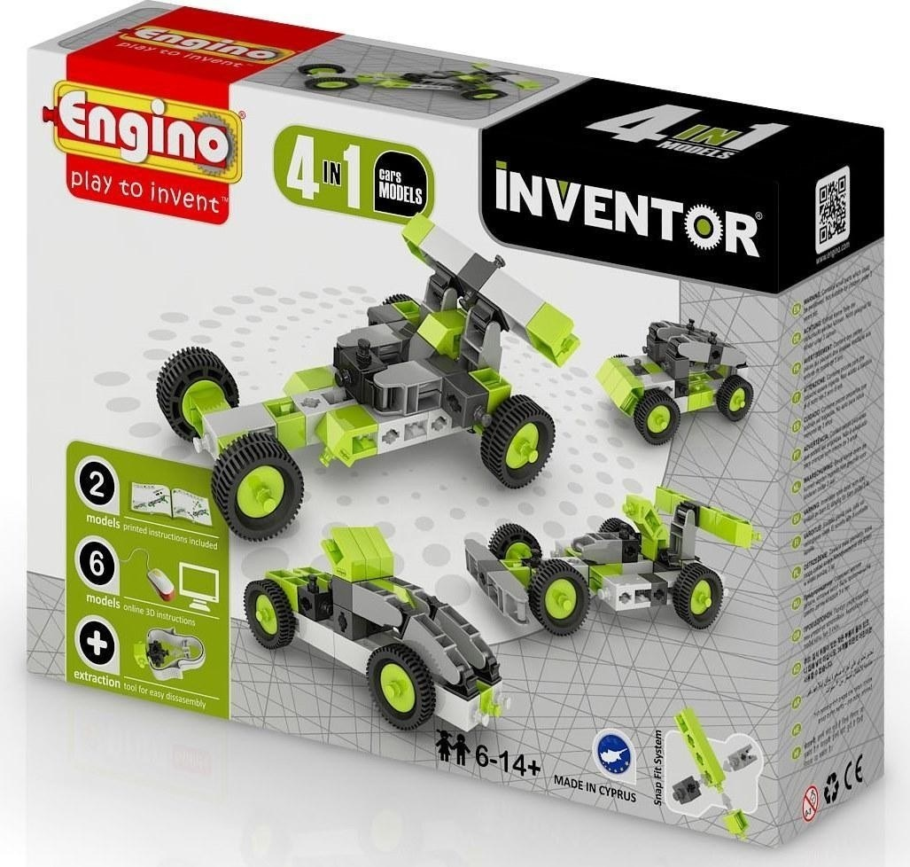 Engino - Inventor - Cars 4 Models