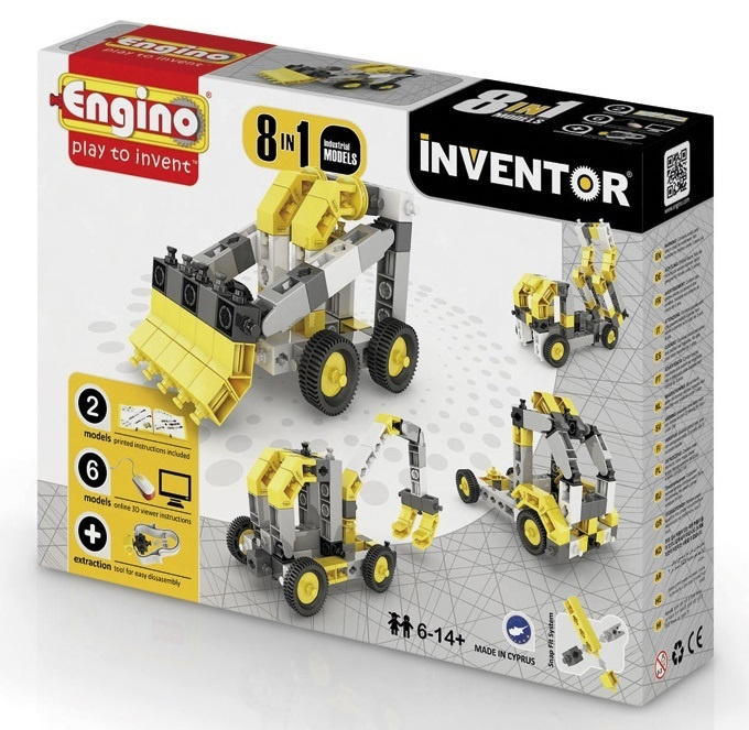 Engino - Inventor - Industrial 8 Models