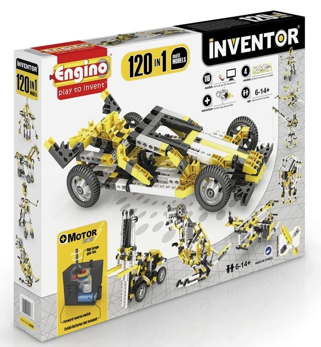 Engino - Inventor - 120 Models Motorized Set