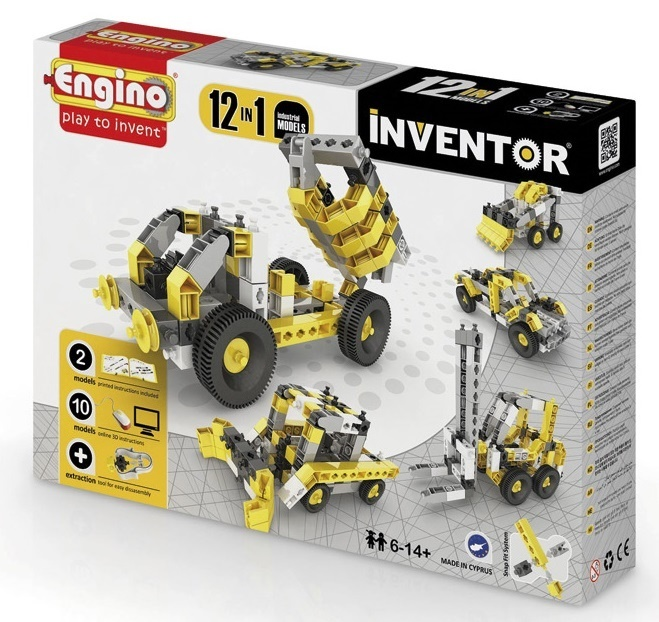 Engino - Inventor - Industrial 12 Models