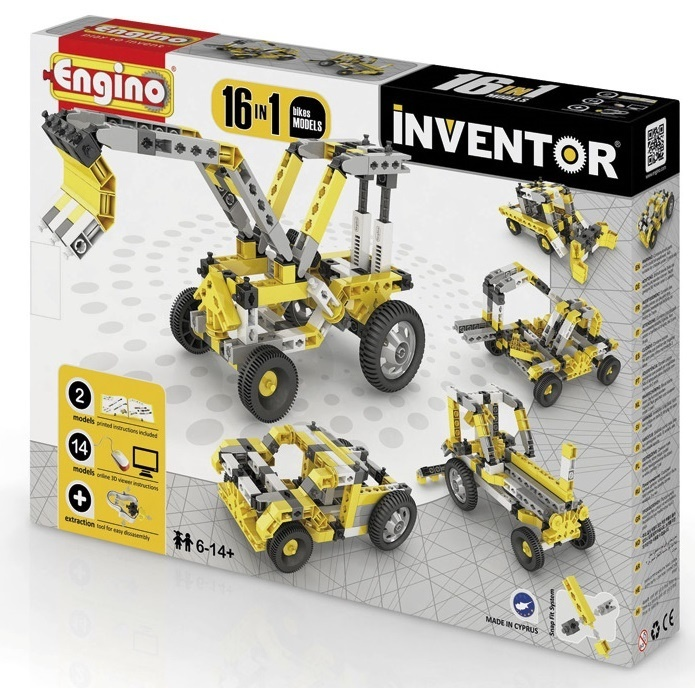 Engino - Inventor - Industrial 16 Models