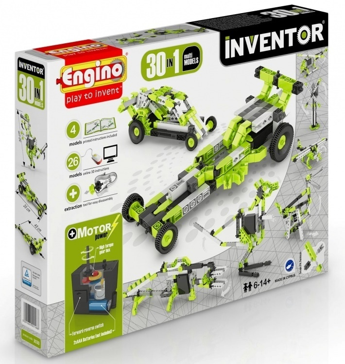 Engino - Inventor - 30 Models Motorized Set