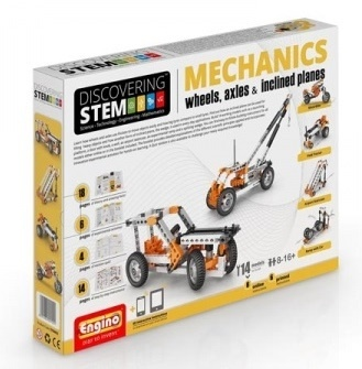 Engino Mechanics - Wheels, Axles & Inclined Planes - 14 Models
