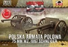 1:72 Polish 75mm Cannon WZ.1897 Schneider (2 kits) (Pre-Order)