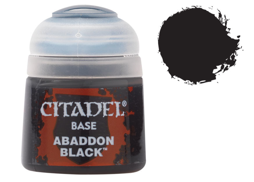 Citadel Base: Abaddon Black - 12 ml (99189950025)