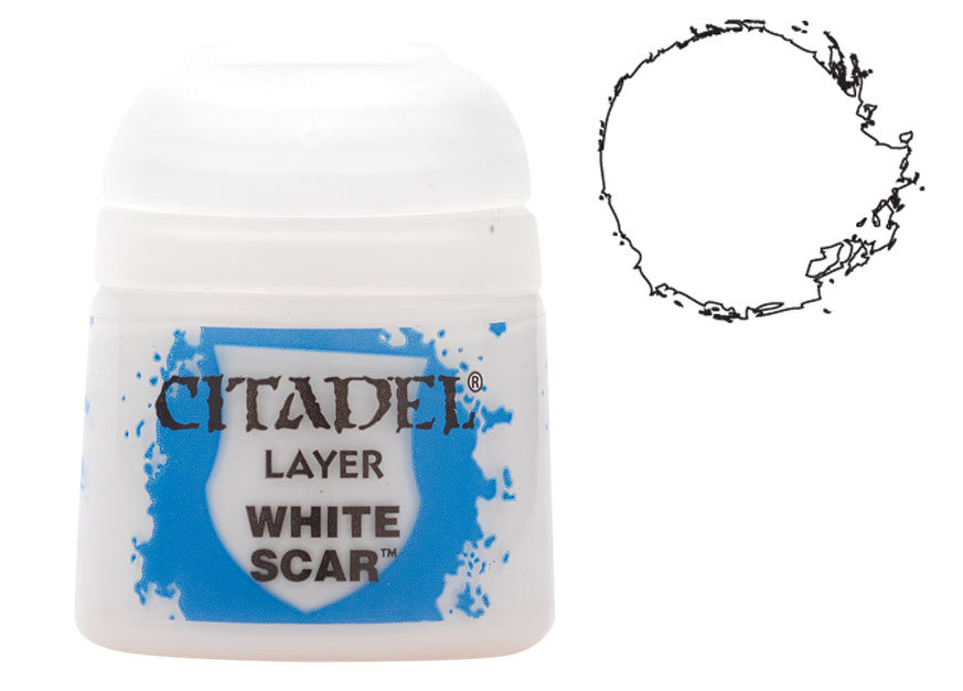 Citadel Layer: White Scar - 12ml (99189951057)