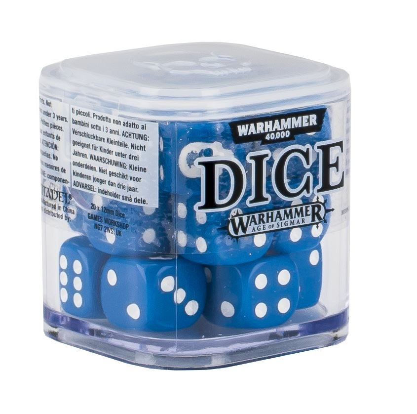 Citadel 12mm Dice Cube Set - Blue (9922999914206)