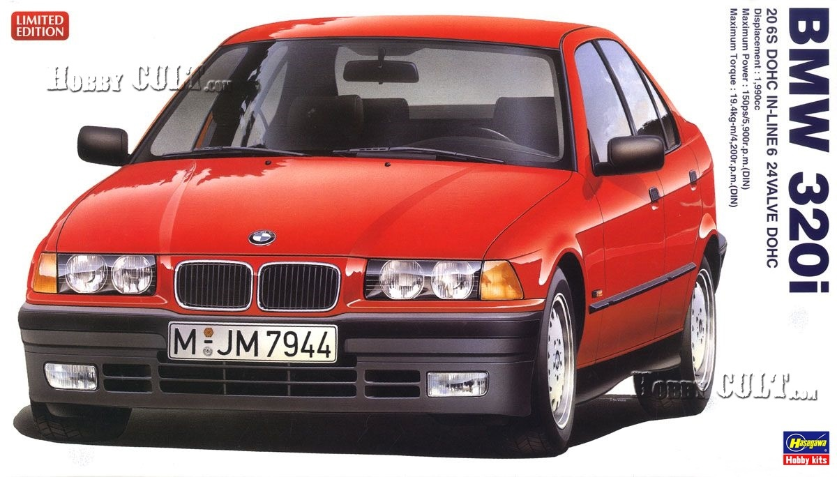 1:24 BMW 320i (E36) (Limited Edition)
