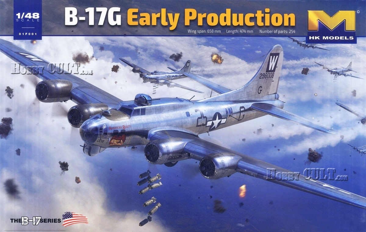 1:48 Boeing B-17G Fortress (Early Production) (Pre-Order)