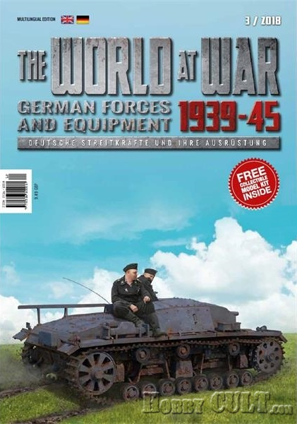 1:72 StuG.III 0-Serie & World at War Magazine #3 (Pre-Order)